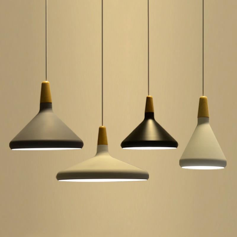 Skandinávská závěsná světla módní restaurace lampa postel - Vnitřní osvětlení