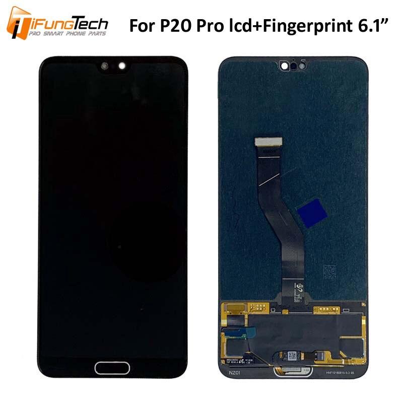 Per Huawei P20 Pro Display LCD Touch Screen Digitizer Assembly Per Huawei P20 Pro Plus LCD CLT L09 L29 AL01 sostituzione dello schermo