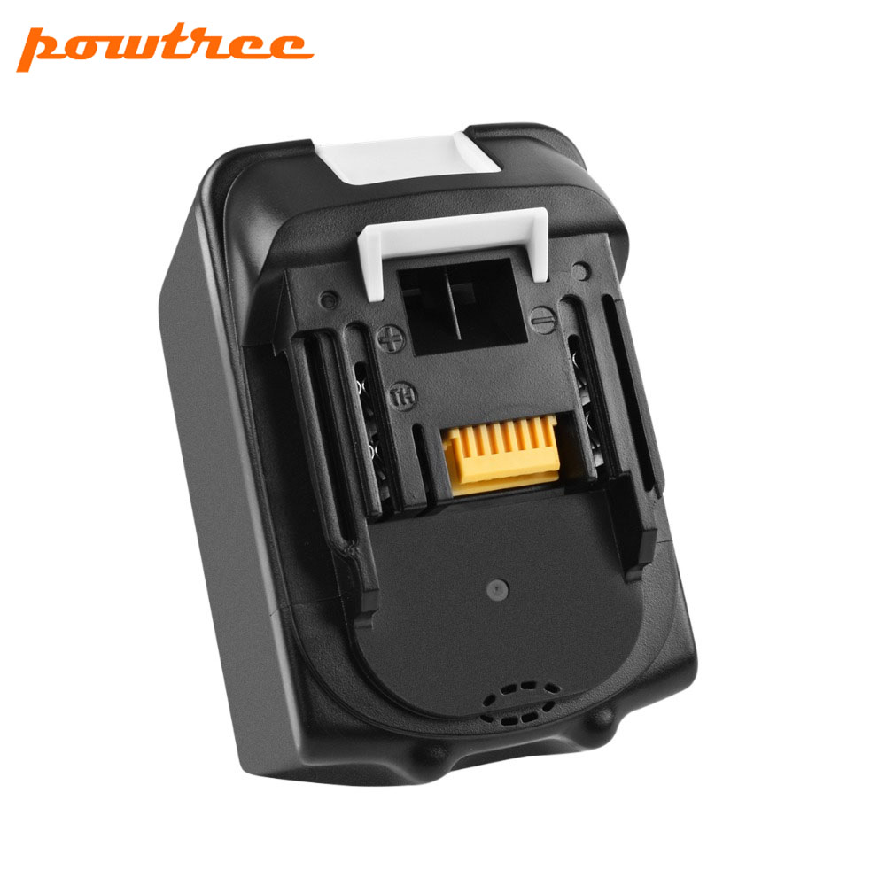 Powtree For Makita High Capacity 18V 6000mAh BL1830 Power Tools Li-lon Battery Replacemen LXT400 BL1815 BL1840 BL1850 BL1860 L10Powtree For Makita High Capacity 18V 6000mAh BL1830 Power Tools Li-lon Battery Replacemen LXT400 BL1815 BL1840 BL1850 BL1860 L10