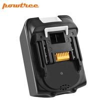 Powtree For Makita High Capacity 18V 6000mAh BL1830 Power Tools Li-lon Battery Replacemen LXT400 BL1815 BL1840 BL1850 BL1860 L10 цена и фото
