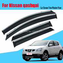 Car Sun Visor Window Rain Shade for Plastic Accessories For Nissan Qashqai