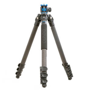 Image 2 - Benro GC358F Tripod Carbon Fiber Camera Monopod Tripods For Camera 4 Section Carrying Bag Max Loading 18kg DHL Free Shipping