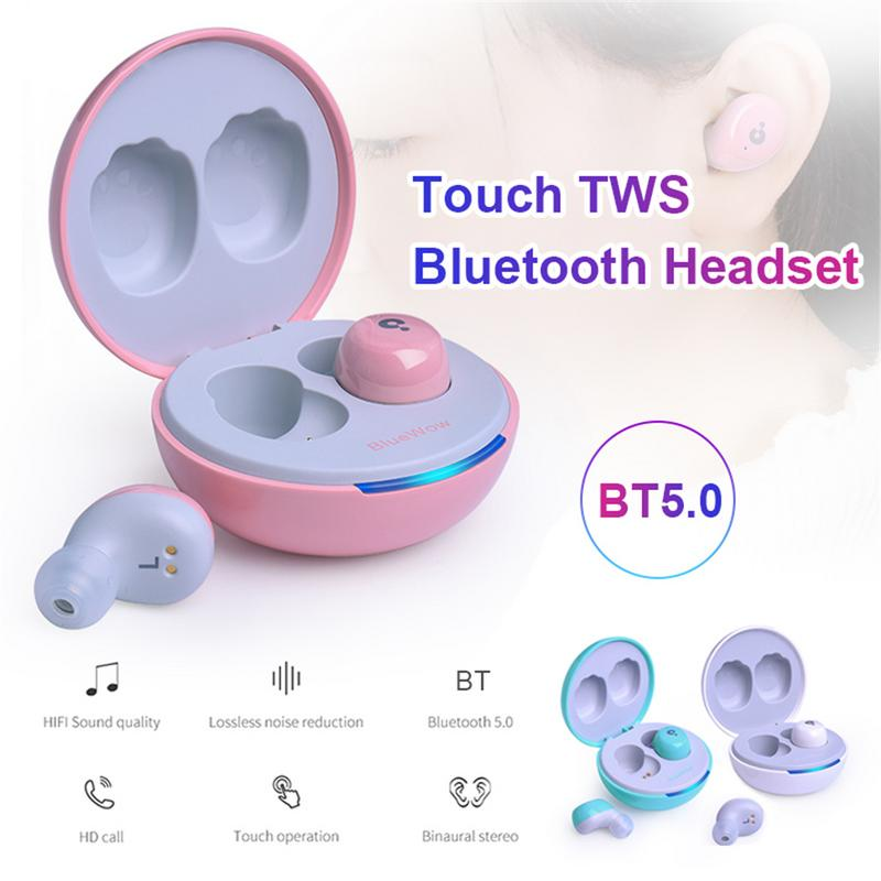 Touch TWS Bluetooth Gaming Headset 5 0 Handsfree Function Sports Mini Stealth Running Wireless Headphones Bluetooth in Bluetooth Earphones Headphones from Consumer Electronics