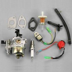 Carburador para Honda Gx110 Gx120 Gx140 Gx160 Gx200 en/interruptor con tubo de combustible Kits