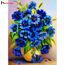Diamond Embroidery Floral Painting Full Square Flower Mosaic Cross Stitch Picture Rhinestones Crystal Needlework