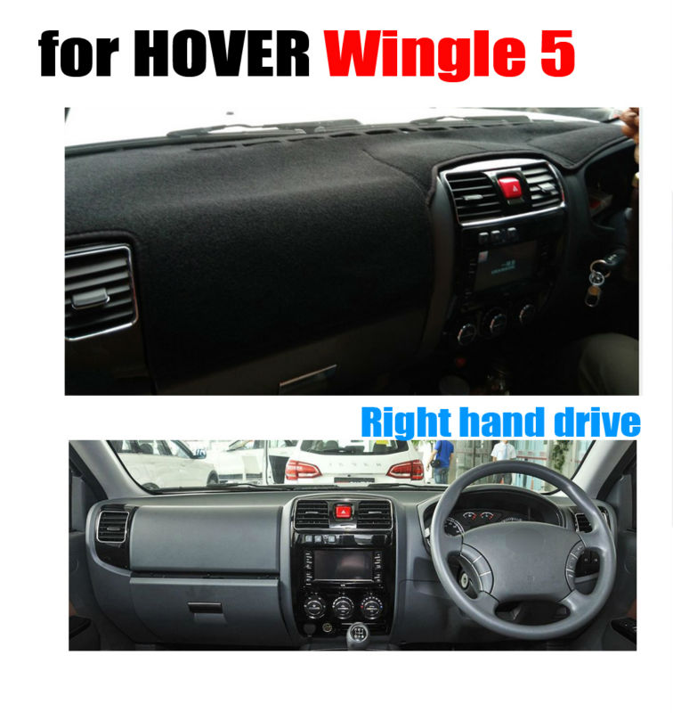 Car dashboard covers mat for HOVER Wingle 5 all the years Right hand drive dashmat pad dash cover auto dashboard accessories title=