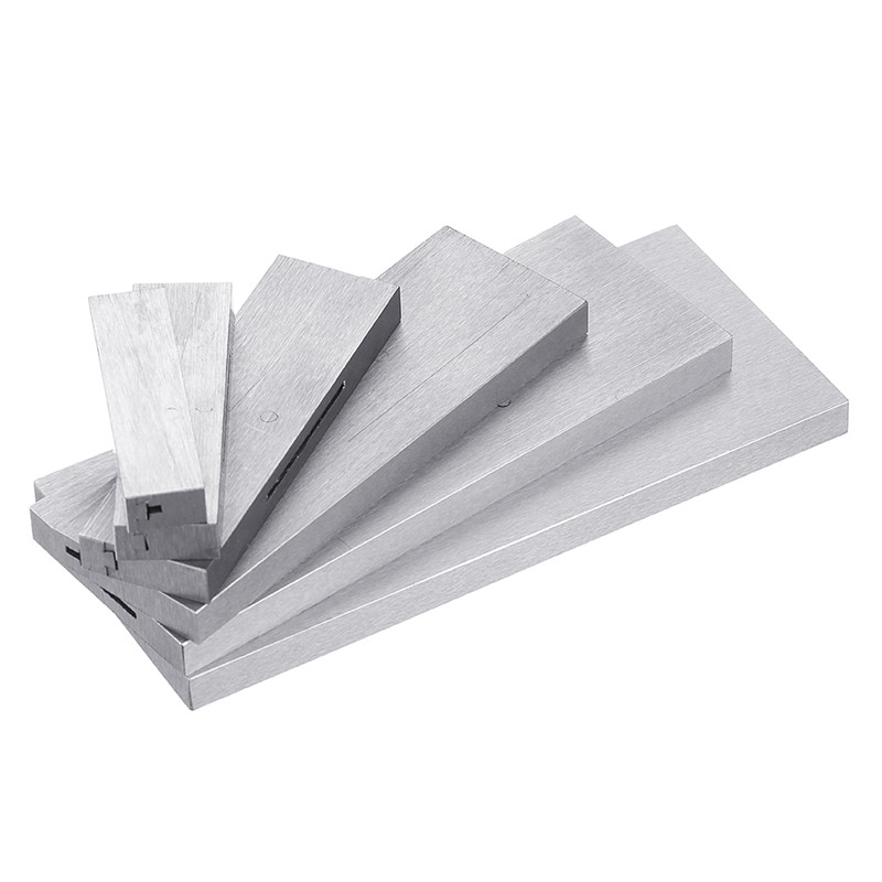 6pcs 3 8 to 2 1 4 Inch Adjustable Parallel Block Set Precision Steel Parallel Gauge