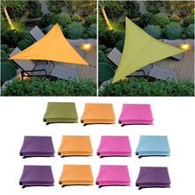 Outdoors Camping Sun Shelter Shade Awning Silver-coated Waterproof Beach Tent with 2m Ropes