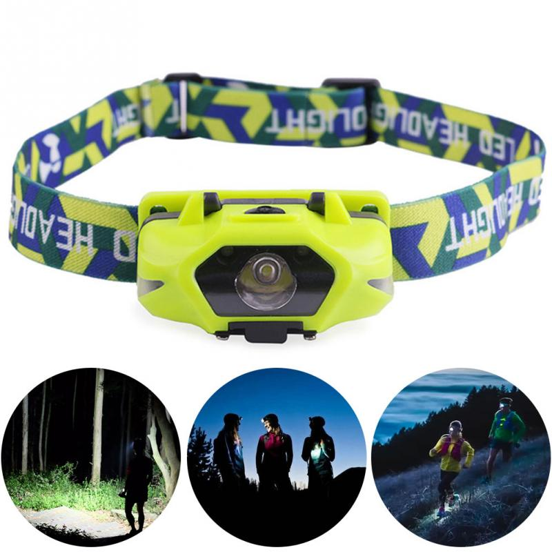 Powerful Headlamp LED Running Headlamps  3W AA Battery Headlight Perfect For Fishing Walking Camping Reading Hiking 4 Models