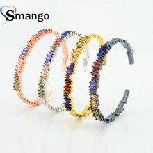 1PCS Bracelets for Women, Irregular Design Colorful CZ Prong Setting Bracelet,Four Plating Colors