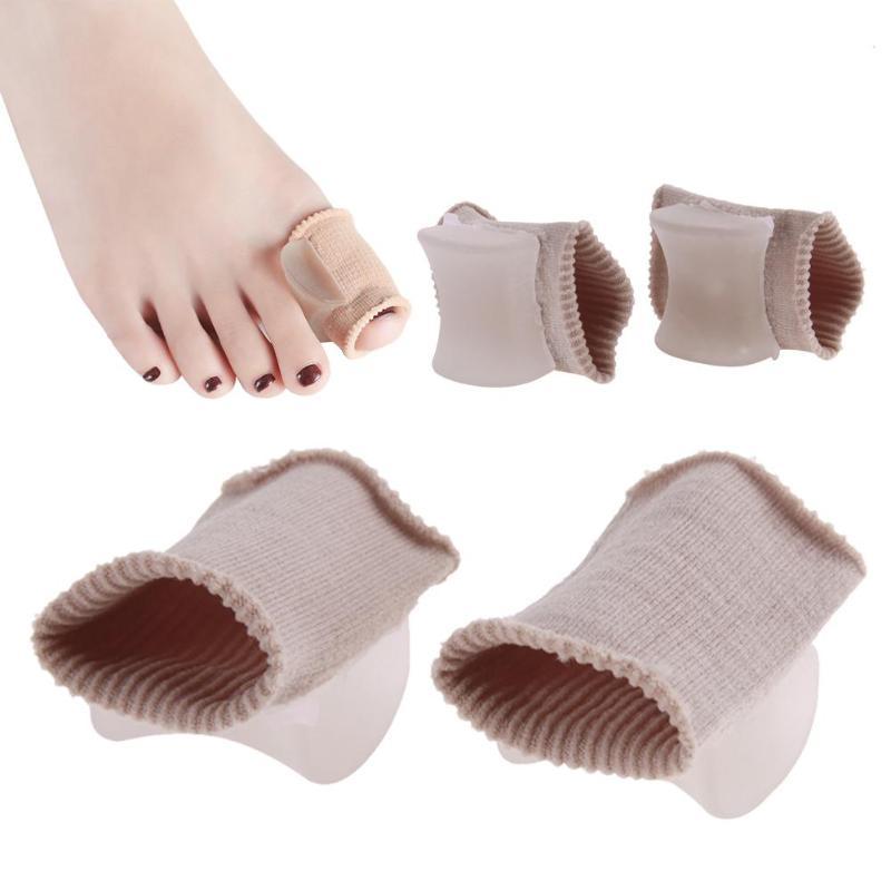 1 Para Big Toe Separator Rohr Bandage Toe Finger Hallux Valgus Korrektur Für Protector Silikon Fuß Massage Fuß Pflege Werkzeug Zu Den Ersten äHnlichen Produkten ZäHlen
