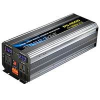 NEW 4000W Peaks Intelligent Solar Inverter DC to AC 24V/48V to 220V Pure Sine Wave Power Inverter For Home/Car/Industry