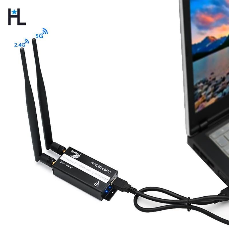 NGFF M2 carte USB3.0 adaptateur wi-fi USB 3G 4G Modem avec fente pour carte SIM et câble USB pour Module LTE/GSM/WWAN/GPS/4G pour ordinateur portable