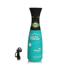Gentle Male Aircraft Cup Flower Bottle Type Real Vagina Realistic Pussy Vibrating Penis Massage Masturbator Sex Products For Men
