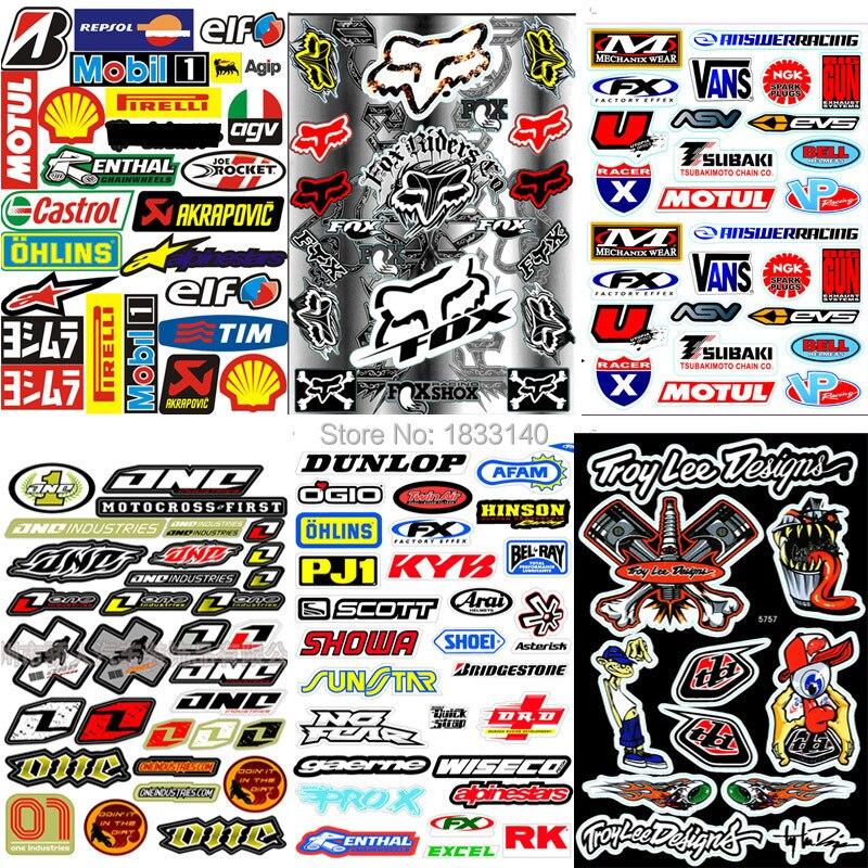 "2x 6/"" Renthal Shroud Swingarm Bike Truck Decals MX Sticker Supercross Sponsor"