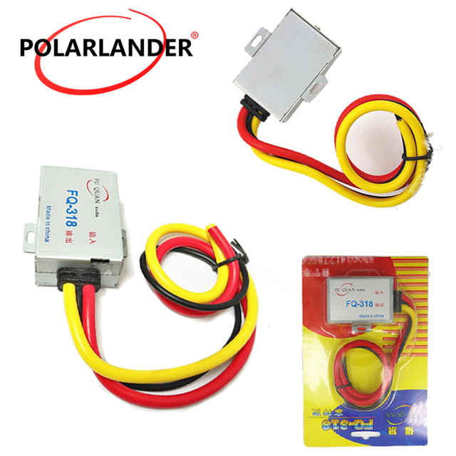 Cheap Amplifier Noise Suppressor Reducer Aluminum Shell Power Cable Car Audio Filter GPS Head Unit DC 12V For Stereo DVD