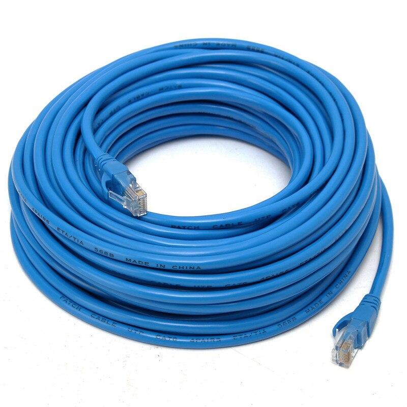 Câble réseau Ethernet CLAITE CAT6 RJ45 20 m 100 M/1000 Mbps câble réseau Internet UTP câbles réseau RJ45 pour routeur Modem DSL