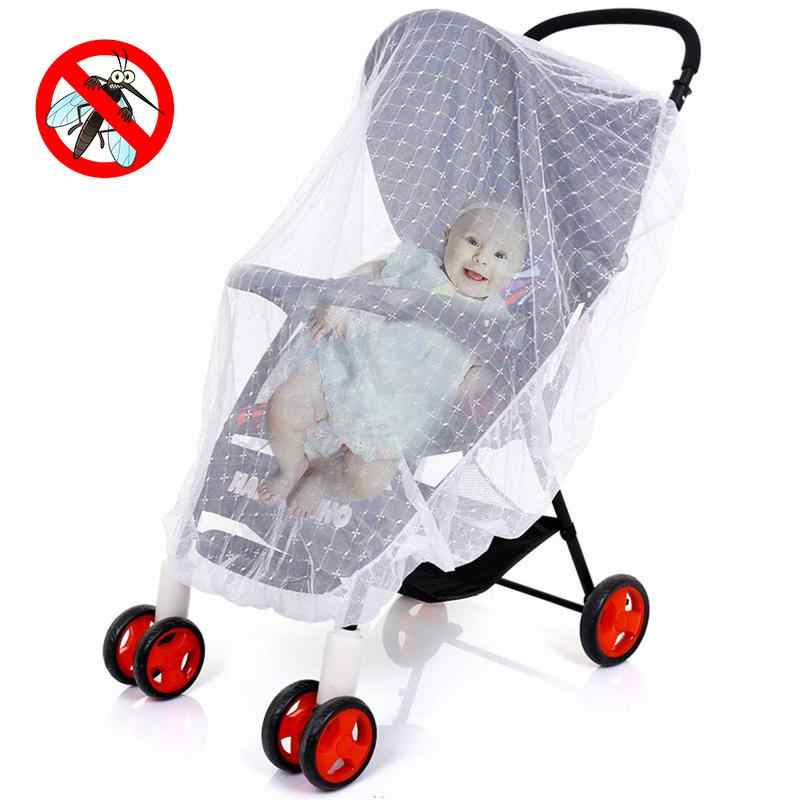 Embroidery New Arrival Baby Stroller Net Universal All-cover Foldable Net Dense Baby's Net For Child For Babies