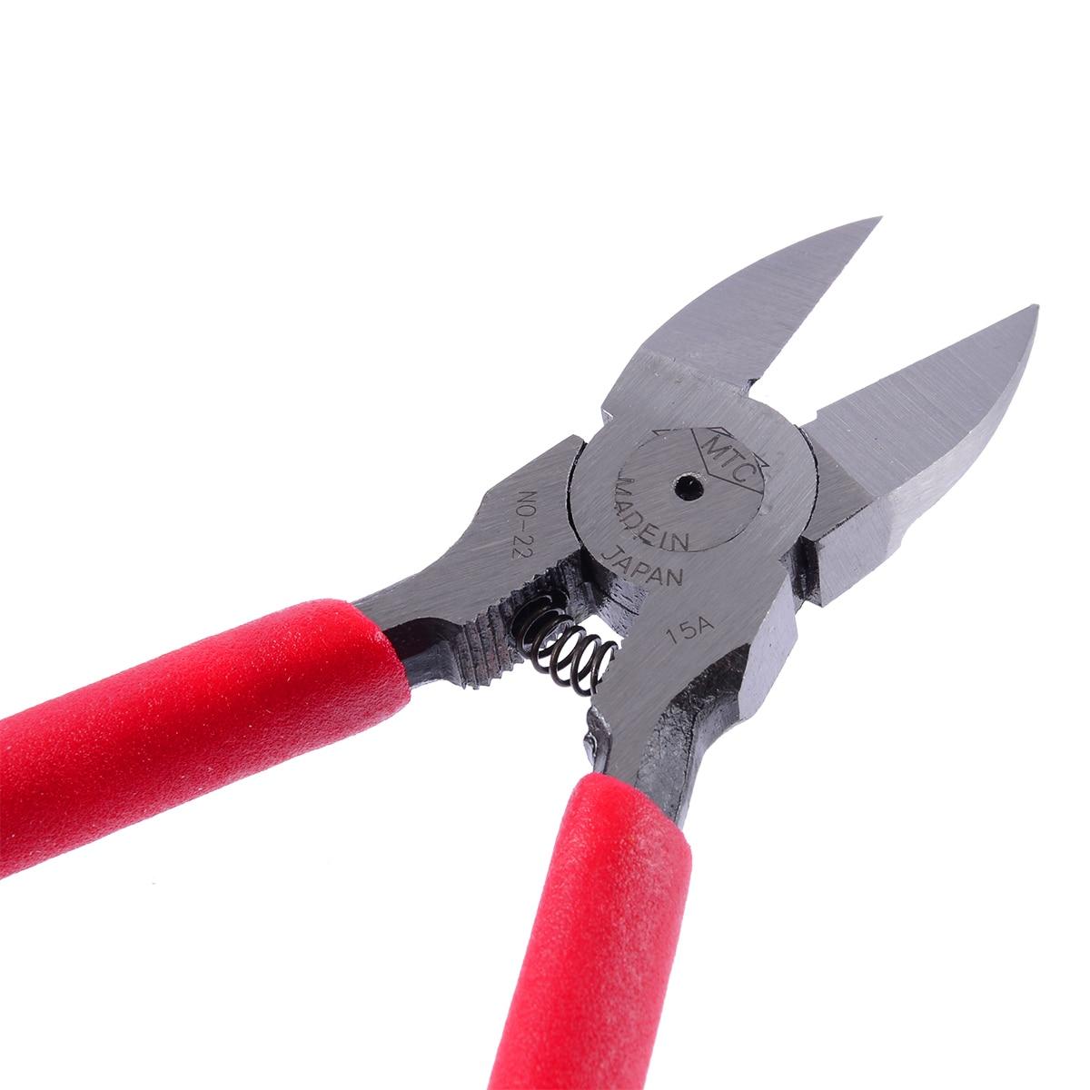 "6/"" Flush Cut Side Cutters Plier Cutting Pliers PVC Handle Wire Cut WW"