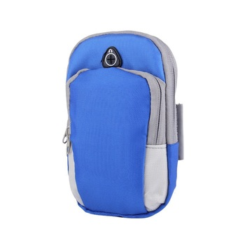 Wholesale Sports Armband Case Cover Running Jogging Arm Band Pouch Holder Bag for 4-6 inch Universal Smart phone 30pcs