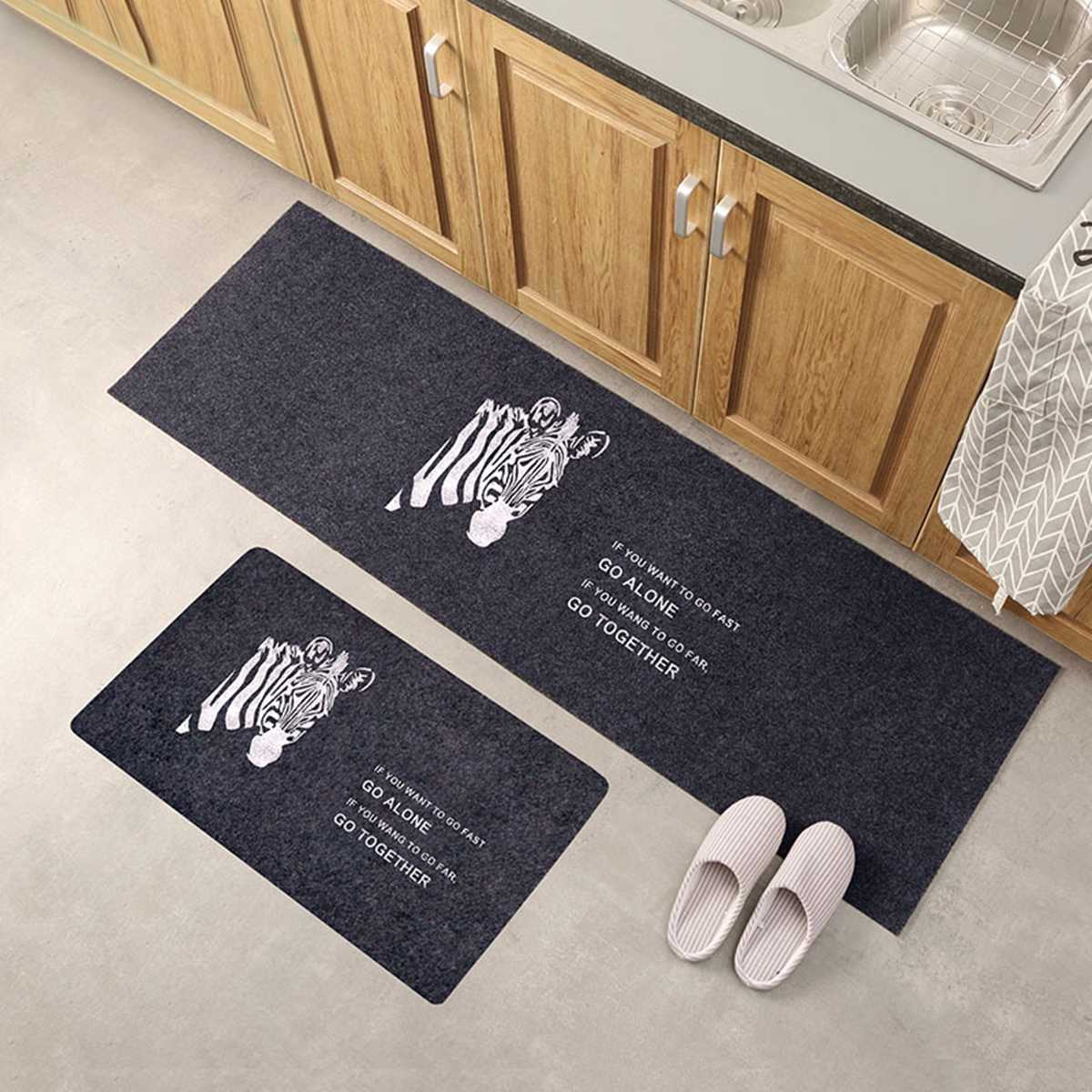Us 6 01 17 Off Washable Non Slip Home Kitchen Floor Mat Machine Floor Rug Mat Door Runner Hallway Carpet For Bedroom Bathroom Balcony Carpet In Mat