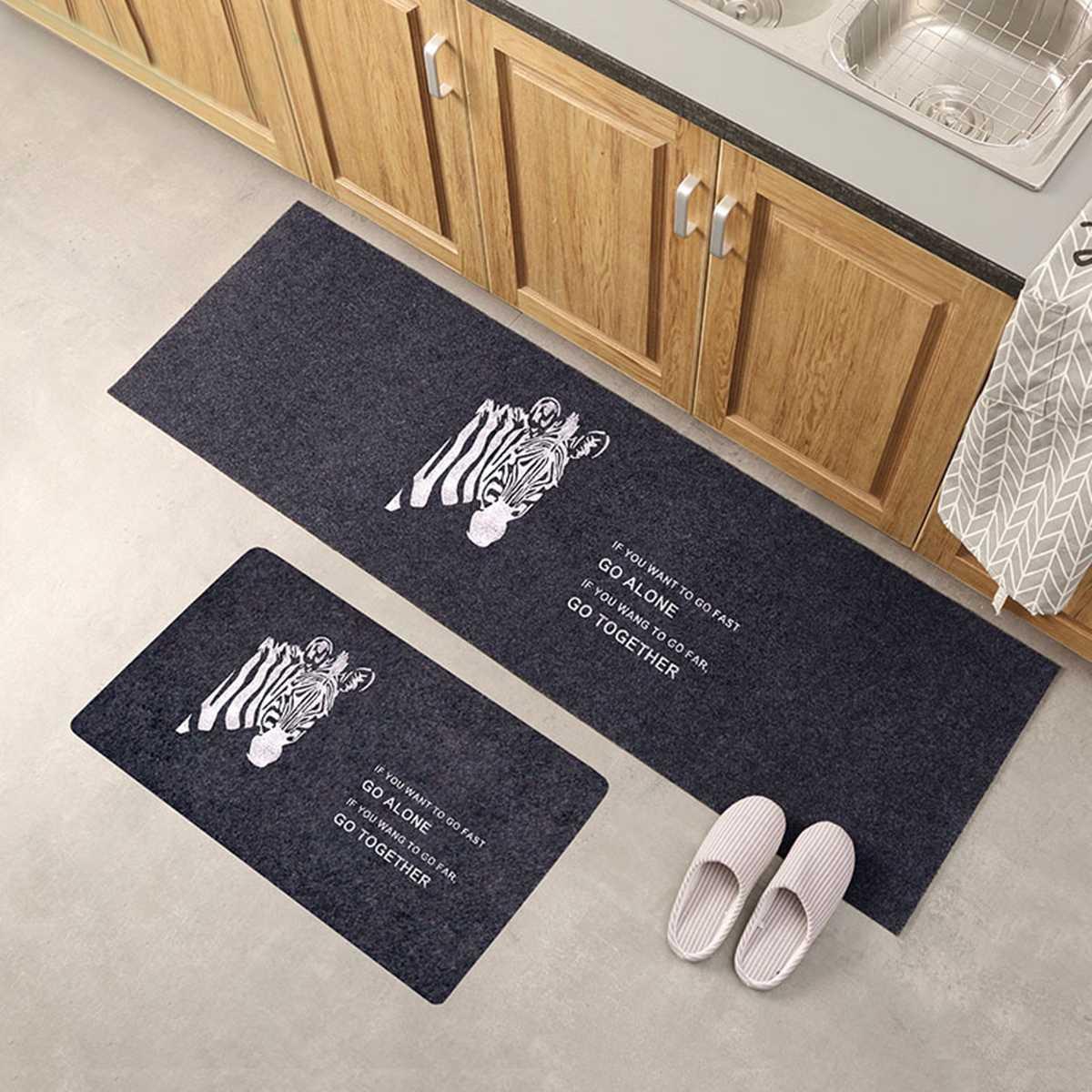 Us 6 01 17 Off Washable Non Slip Home Kitchen Floor Mat Machine Floor Rug Mat Door Runner Hallway Carpet For Bedroom Bathroom Balcony Carpet In Mat