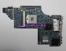 Genuíno 665345 001 hm65 hd6490/1g duo u2 placa mãe do portátil para hp dv6 DV6 6000 séries DV6 6C00 computador portátil