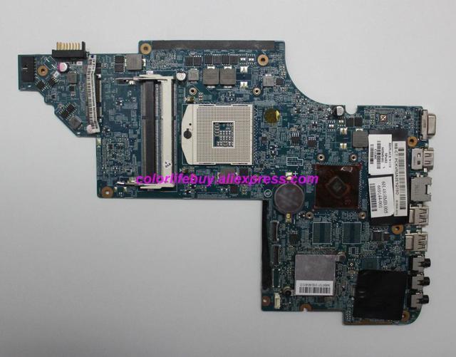 Genuine 665345 001 HM65 HD6490/1G DUO U2 Laptop Motherboard for HP DV6 DV6 6000 Series DV6 6C00 NoteBook PC