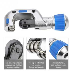 Image 2 - 4 32mm/5 50mm Ball Bearing Pipe Cutter Tube Cutting Tool for Copper Aluminum Stainless Steel Hand Tools