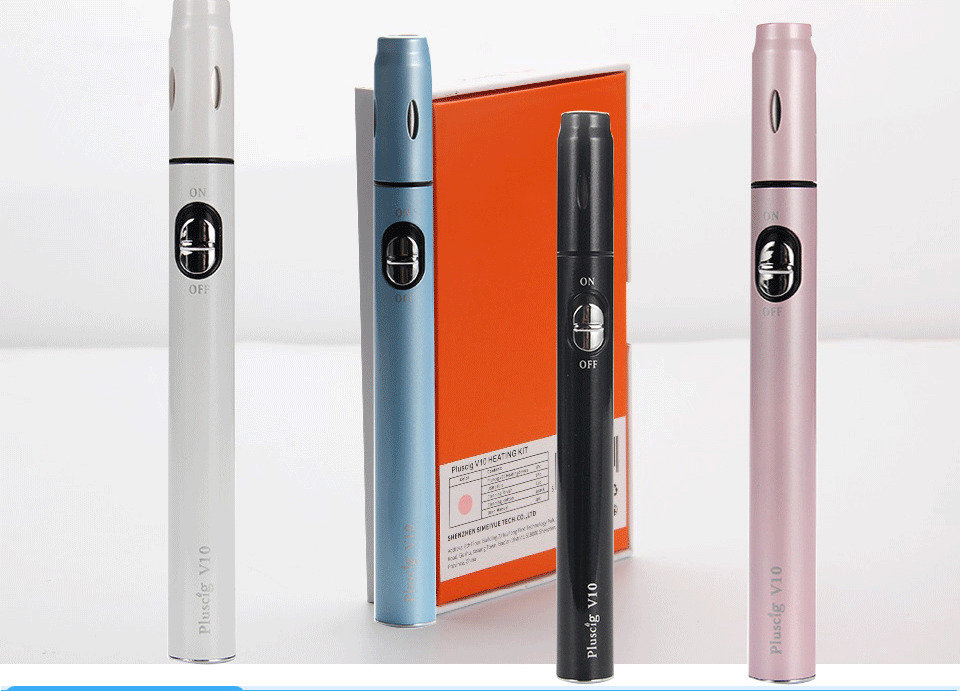 Electronic cigarette vape pen 900mah 18650 Battery E Cigarette heating Tobacco Dry herb vaporizer compatibility with iQOS stick