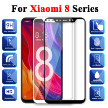 Protective Glass On The For Xiaomi Mi 8 Tempered Ksiomi Lite Screen Protector 8 Pro 8se Xiomi Xomi Xiami 8lite 8pro Armor Case