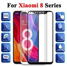 Vetro di protezione Per Per Xiaomi Mi 8 Temperato Ksiomi Lite Protezione Dello Schermo 8 Pro 8se Xiomi Xomi Xiami 8lite 8pro Caso Armatura