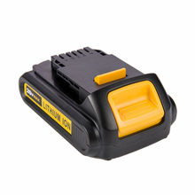 GTF 20V 2000mAh Li-Ion Tools Battery Replacement Rechargeable lithium batteries with lamp for DeWalt DCB200 DCB201 DCB203 DCB205