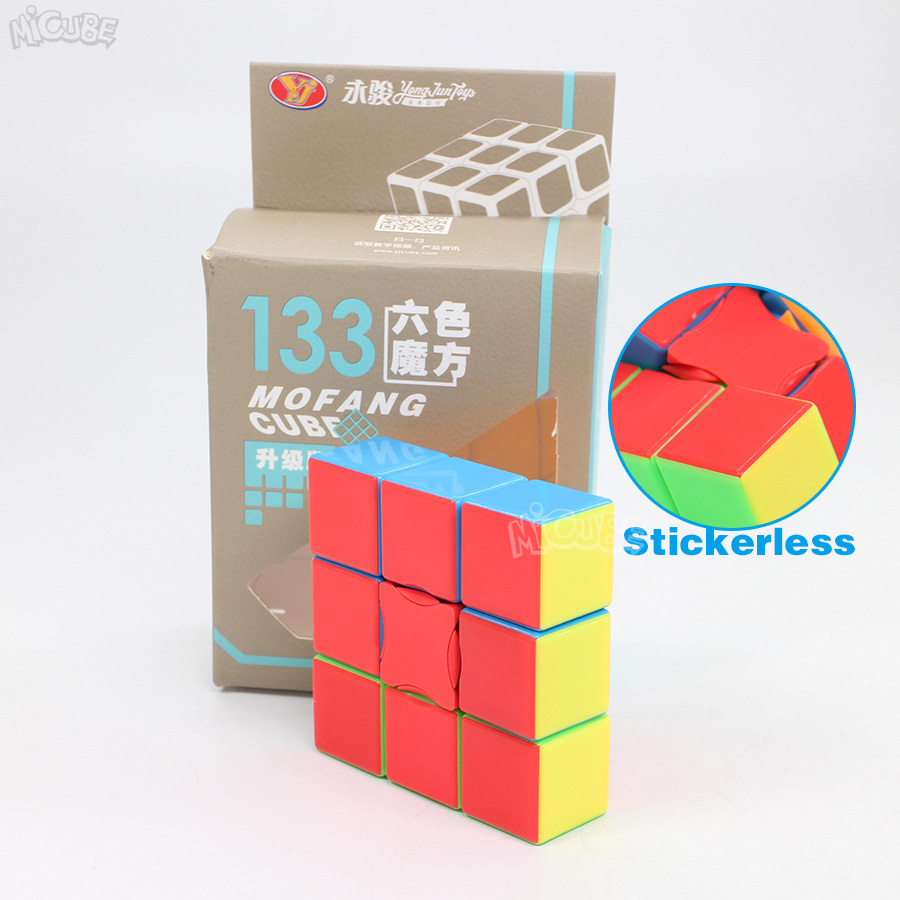 Yongjun 331 Cube Magic 1x3x3 133 Cube Stickerless Puzzle Twist 3x3x1 Education Toys For Children