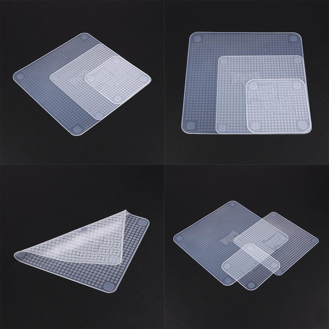 Cover Wrap Plastic Seal Silicone Kitchen Tools Food Fresh Vacuum Y