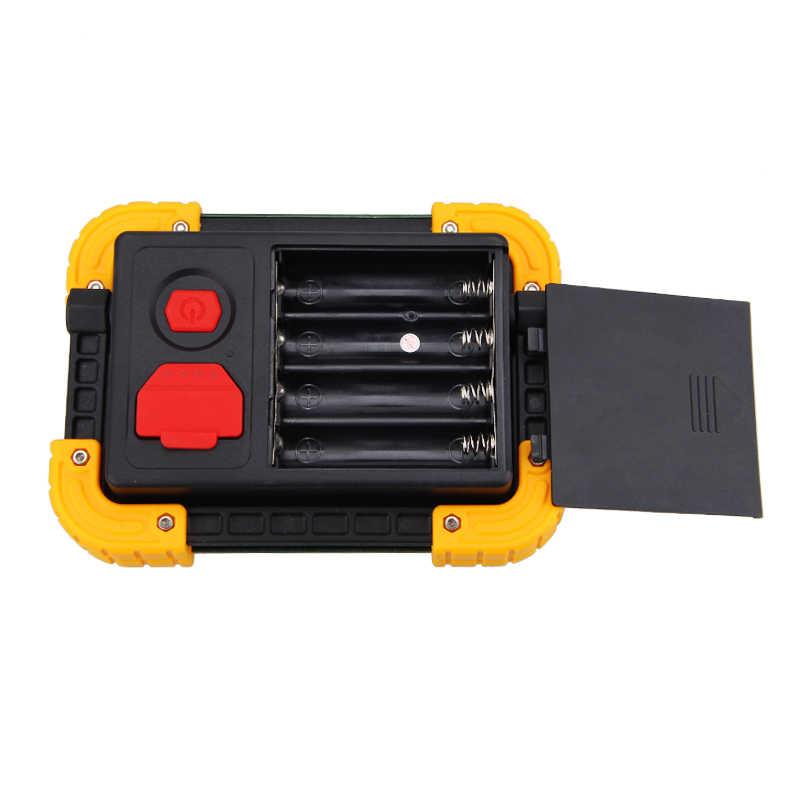 Luz de inundación LED 30 W Reflector Lámpara USB Rechargeabl foco Led Exterior punto de trabajo al aire libre lámpara de inundación portátil