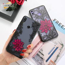 KISSCASE 3D Embossed Case For Samsung Galaxy Note 9 8 Black Red Rose Flower S9 Plus S8 Capinhas Bag