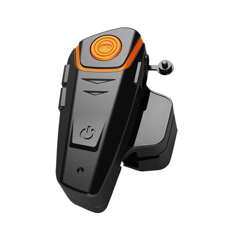 BT-S2 Pro Interphone casque moto casque étanche sans fil Bluetooth BT Interphone FM Radio stéréo musique