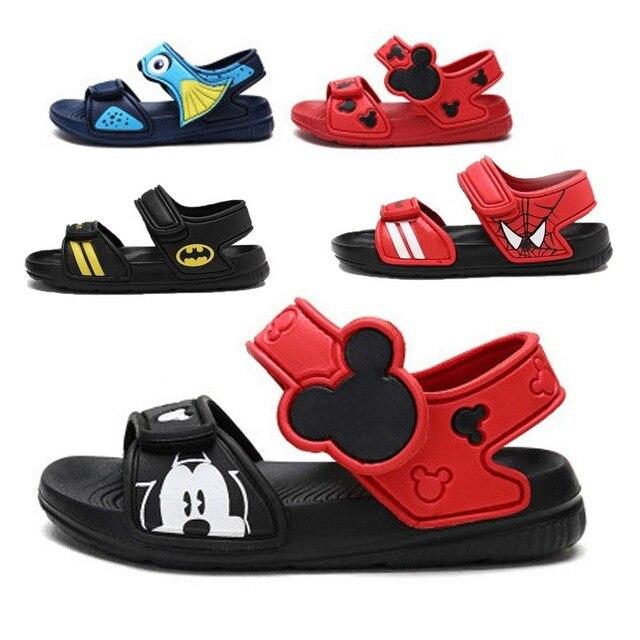 2018 New Children's Shoes Summer Girls Children Princess Shoes Beach Shoes Soft Bottom Toe Sandals 0-4Y