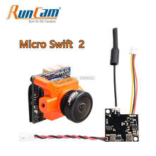 Runcam Micro Swift 2 FPV Camera 600TVL 2.1mm / 2.3mm FOV 160 / 145 Degree 1/3'' CCD Build in OSD & RunCam TX200U Transmitter(China)