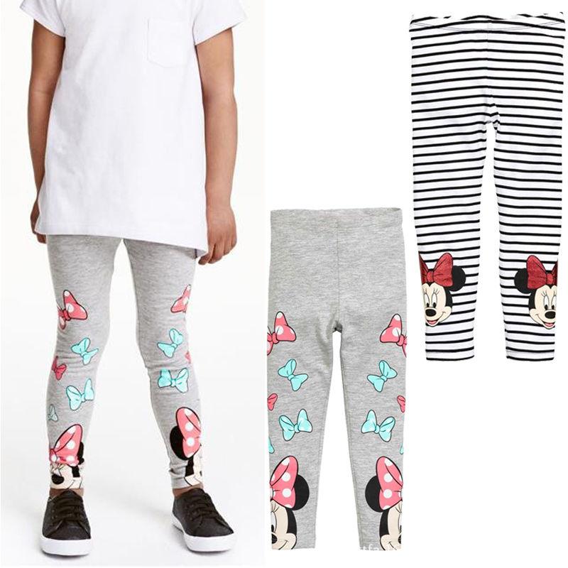 Minnie Mouse beb/é-ni/ñas Leggings