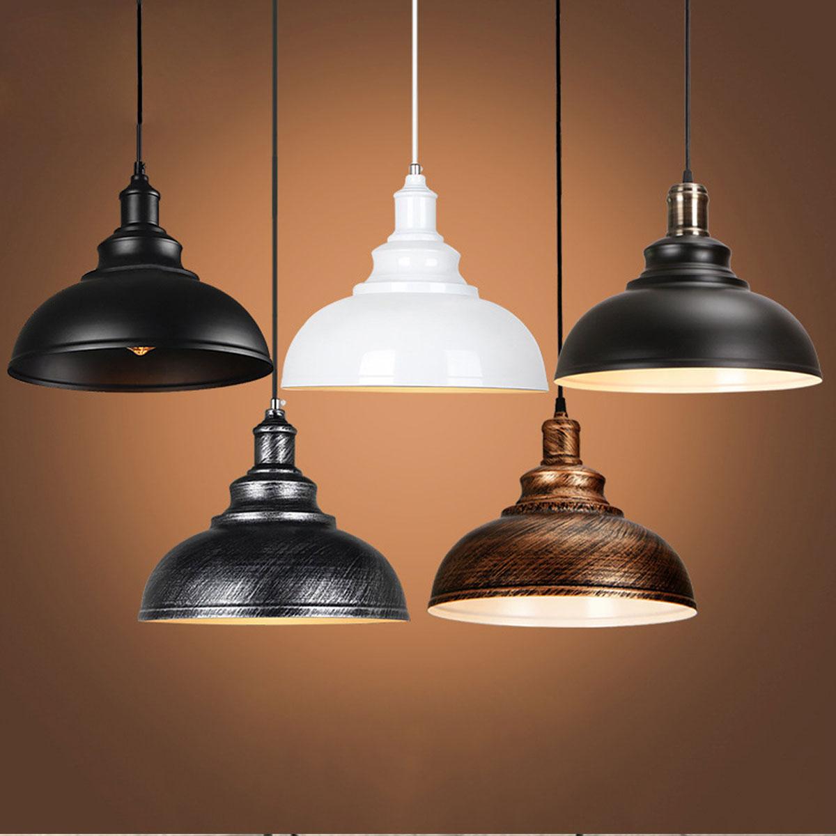 Vintage E27 Pendant Lights Iron Loft Retro Lamp Nordic Hanging Restaurant Kitchen Bar Luminaire Industrial Wind Rust LampsVintage E27 Pendant Lights Iron Loft Retro Lamp Nordic Hanging Restaurant Kitchen Bar Luminaire Industrial Wind Rust Lamps