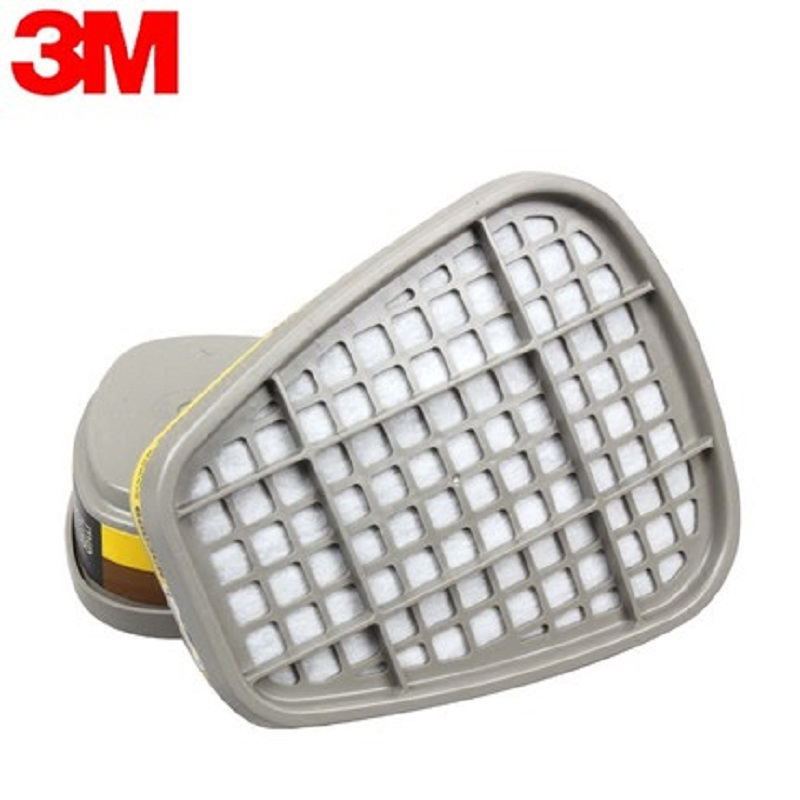 3M 6003 Organic Vapors Acid Gas Mask Cartridge Filters Anti Dust Paint Cleaning Pesticide Fit 6200 7502 6800 Gas Respiratory in Chemical Respirators from Security Protection