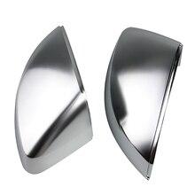 Зеркало заднего вида защитные колпачки для зеркала для Audi, зеркало на дверь крышка Корпус шапки Замена для Audi A3/S3/Rs3 8 V