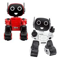 Remote Control Intelligent Robot Toy Voice Activated Interactive Recording Sing Dance Storytelling Children's Toys Kids Playmate