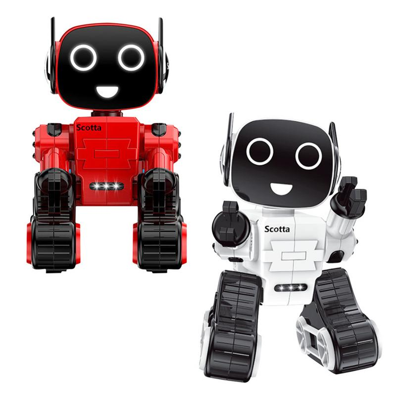Remote Control Intelligent Robot Toy Voice Activated Interactive Recording Sing Dance Storytelling Children's Toys Kids Playmate image