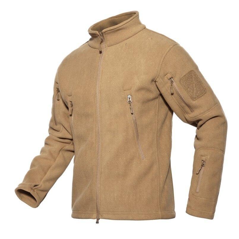 Hiver polaire militaire tactique doux Shell vestes hommes thermique épaissir armée Combat coupe-vent vestes multi-poches manteau