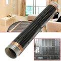 60 градусов 50cmx2/4/6 m Электрический домашние тапочки инфракрасный, проходящий под полом Отопление Теплый пленка