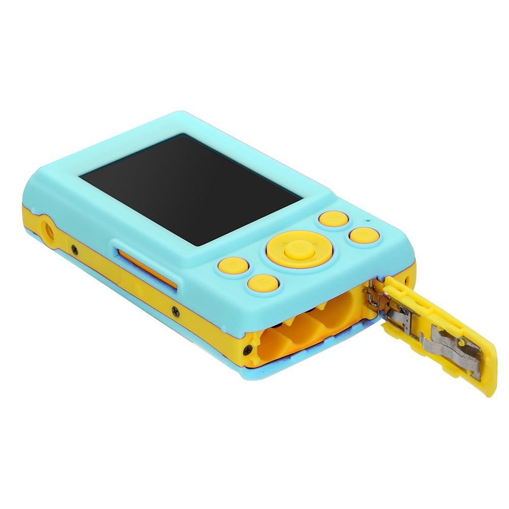 2.4HD pantalla Digital cámara 16MP Anti-Shake, cara de detección de videocámara en blanco punto y disparar la cámara Digital portátil de niño lindo