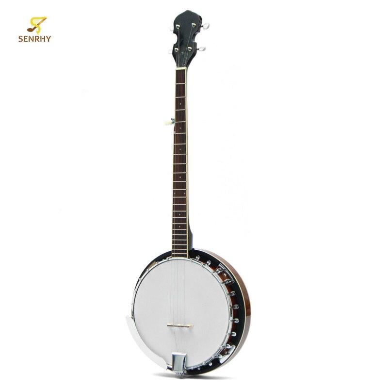 SENRHY 5 cordes Banjo guitare acajou bois traditionnel Western ukulélé Concert basse guitare pour Instruments à cordes musicales